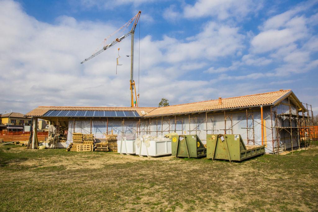 casa geosana + san donà involucro esterno