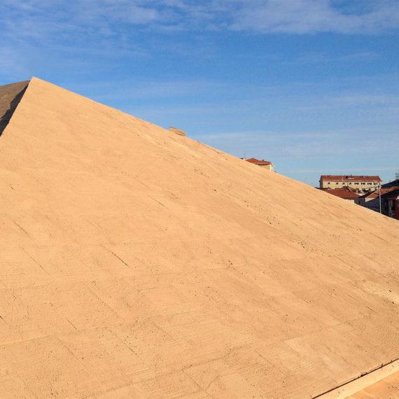 tetto in legno ventilato con tavelle di argilla a imperia
